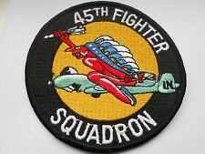 RAF/USAF  squadron cloth patch  45th fighter squadron