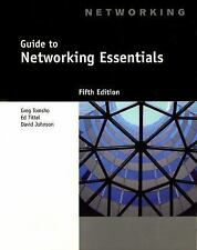 Guide to Networking Essentials, 5th Edition Tomsho, Greg Paperback