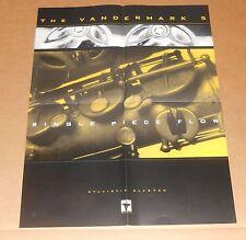 Vandermark 5 Single Piece Flow Poster Original Promo 17x22