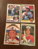 GARY CARTER Lot F (18 different cards) 1983 1984 1985 Topps Fleer Donruss - HOF