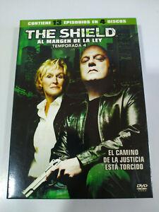 The Shield Fourth Season 4 Complete - 4 X DVD Spanish English