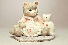 Calico Kittens - I'm Sew Glad You're Mine - 623512 - Heart Braided Rug