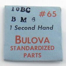 Genuine Bulova Standardized Parts 10BC BM6 #65 1 One Second Hand Sealed I605