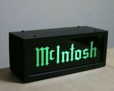 Mc mcintosh Illumination Amplifier Steel and Acrylic Green and Gold ornament