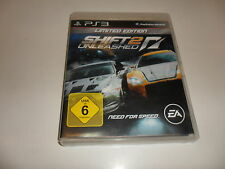 PLAYSTATION 3 ps3 SHIFT 2 Unleashed-Limited Edition