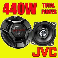 JVC 440 W totale 4 in (ca. 10.16 cm) 10 cm 2-WAY Auto/Furgone Porta/scaffale Coassiale Altoparlanti Nuovo Paio