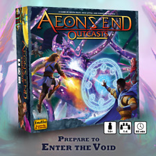 In hand: Aeon's End: Outcasts Tornado of insight pledge Indie Board  & Games