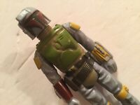 1979 Vintage Star Wars Boba Fett Yellow PAINT Pads Taiwan VARIANT Action Figure