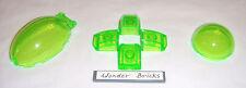 Lego Windscreen Bubble & Hemisphere Canopy Clear Bright Green 8080 Atlantis
