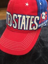 Adidas Spellout WORLD CUP 94 United States Snapback Hat Red USA SOCCER 1994