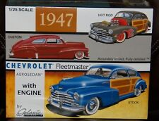 Galaxie Limited 13012 1947 Chevrolet Fleetmaster Aerosedan 3 in 1 model kit 1/25