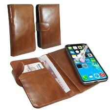 Tuff-Luv Leather Vintage Slim Wallet Case with Magnetic Shell for iPhone X