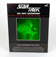 Vintage '92 Star Trek The Next Generation Red Beam USS Enterprise Hologram