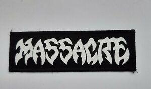 Massacre patch,death metal,heavy metal,dismember,obituary,punk,Morbid Angel, Ven