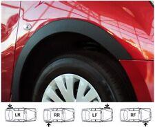 VW EOS 06-15 Wheel Arch Trims 4pcs Black Matt Front Rear Wings Panel Molding Kit