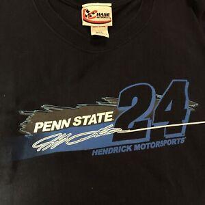 Jeff Gordon #24 Penn State Nascar Chase Authentics T-shirt - Size 3XL