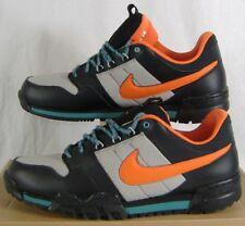 New Mens 14 NIKE Mogan 2 OMS Black Orange Running Trail Shoes $80 536357-080