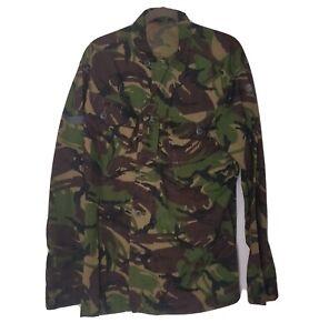 British DPM Woodland Camo Shirt Jacket Uniform