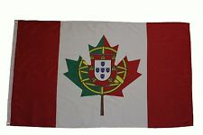 PORTUGAL / CANADA  Country  3' X 5' Feet FLAG BANNER .. NEW