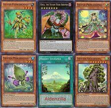 Yugioh Sylvan Deck - 40 Cards + 4 XYZ - Orea Sagequoia Princessprout Charity