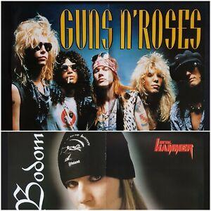 GUNS 'N' ROSES + Children of Bodom * POSTER DIN A2