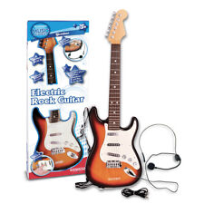 Electronic Guitar with Strap and Microphone Kids First Musical Instrument Toy