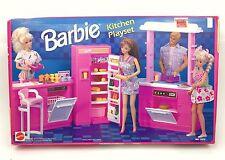 Barbie Kitchen Playset 7472 Arco 90's Stove Fridge Sink NRFB 1990s