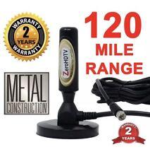 Zero HDTV Digital Antenna, Indoor-Outdoor, Magnetic Base,120 mile range