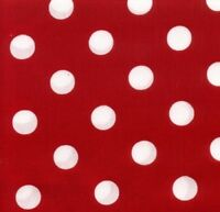 RED DOT Cotton Print by TC Studio BTY