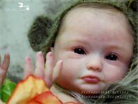 Studio-Doll Baby  Reborn GIRL SPARROW by Mayra Garza so real BABY 19 full vinyl