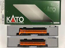 N Scale - Kato 106-0430 Milwaukee Road EMD FP7A/F7B Diesel Set #95A, #95B N4016