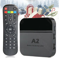 2019 Newest A2 TV BOX Portuguese Brazil live TV IPTV Media Streamer Wi-Fi & 4K