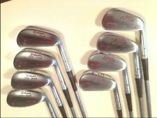Vintage Rh Wilson Gooseneck Golf Club Iron Set-2-9 Nice Collectors Set A10