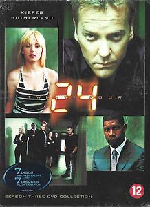 24 - Seizoen 3     7-dvd boxset    Nieuw en origineel  in seal
