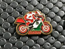PINS PIN BADGE CAR MOTO BIKE CASTROL
