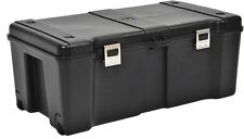 Large Wheeled Weatherproof Storage Trunk Travel Portable Storage Camping Box New