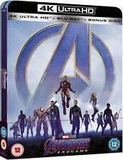 Avengers: Endgame 4K UHD+Blu Ray Steelbook / REGION FREE /  WORLDWIDE SHIPPING