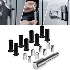17pcs Door Pin Guides & Door Bushing Removal Tool Bolts for Jeep Wrangler JK JL