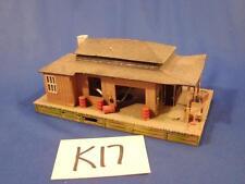 K17 VINTAGE TYCO HO PLASTIC BUILDING TRACKSIDE TRAIN STATION WAREHOUSE