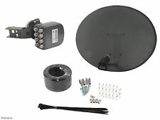 Zone 2 Sky Dish With Octo LNB, install Kit