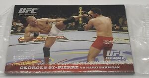 2009 TOPPS UFC ROUND 1 SEALED PROMO PACK ST-PIERRE BJ PENN RC ROOKIE CARDS RARE