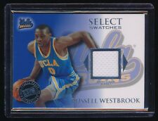 RUSSELL WESTBROOK 2008-09 PRESS PASS LEGENDS SELECT SWATCH RC JERSEY *THUNDER*