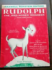 Vintage Rudolph the Red-Nosed Reindeer & other holiday selections sheet music
