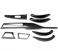 For 2012+ BMW 3 4Series F30 F36 Low Configura Carbon Fiber Interior Trim 8PCS