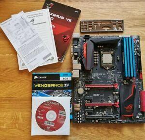 Asus Maximus VII Hero + Intel Core i7 4790k + 16GB Corsair Vengeance LP DDR3 RAM