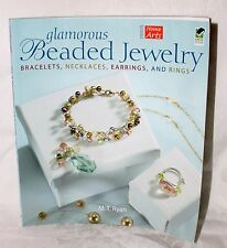 GLAMOROUS BEADED JEWELRY Bracelet Necklaces Rings by M T Ryan NEW! Craft Jewelry