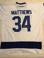 Auston Matthews Signed Autographed Toronto Maple Leafs Jersey Roy Psa/Dna