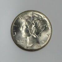 "1944-S Winged Liberty Head ""Mercury"" Dime NGC MS66  RG64"