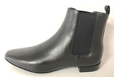 TORY BURCH - ORSAY BLACK LEATHER ANKLE BOOTIE SZ 6, RETAIL $395