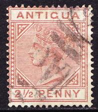 Antigua 1882 QV SG22 used, cv £55